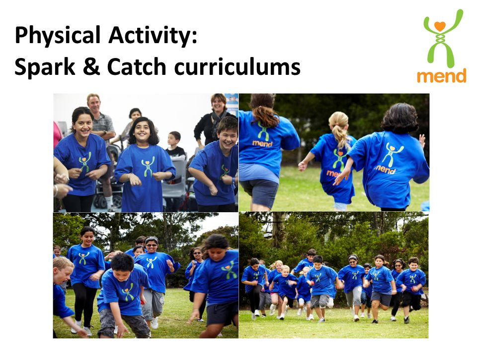 Physical Activity: Spark & Catch curriculums