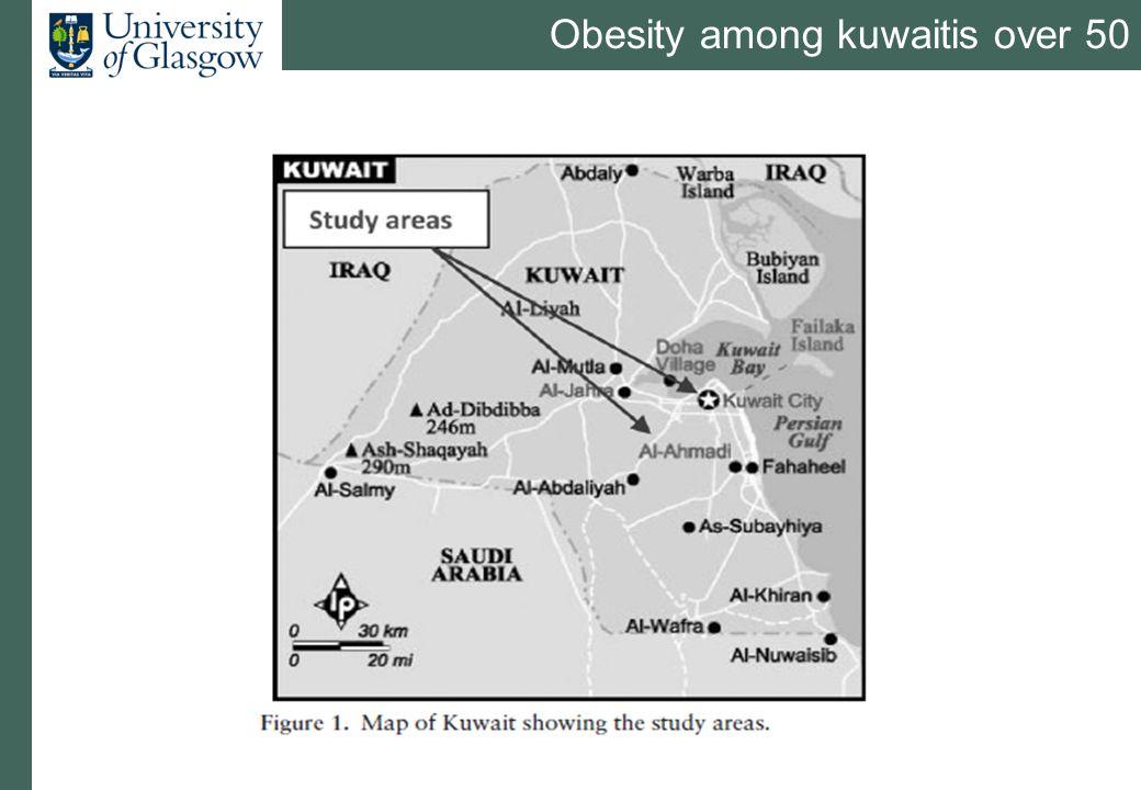 Obesity among kuwaitis over 50