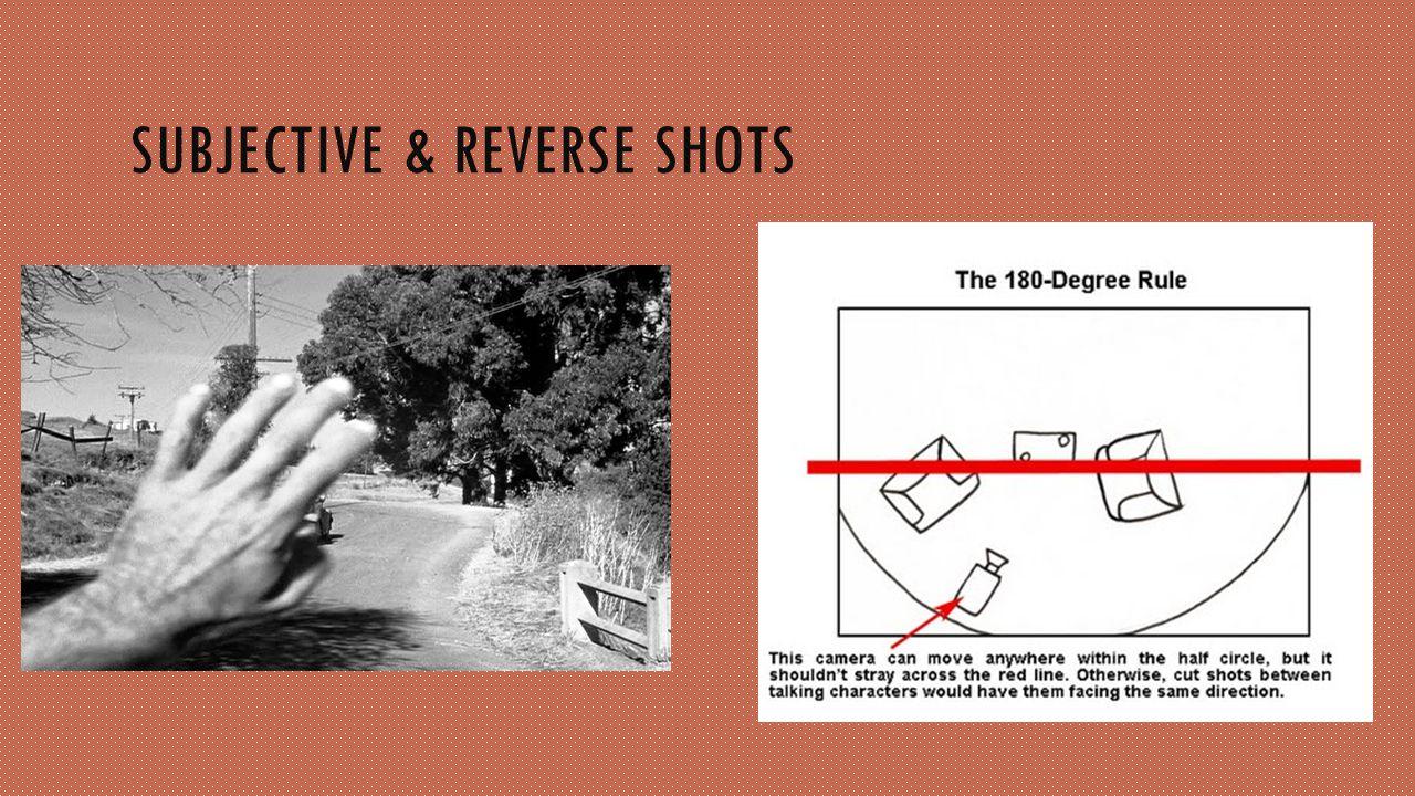 SUBJECTIVE & REVERSE SHOTS