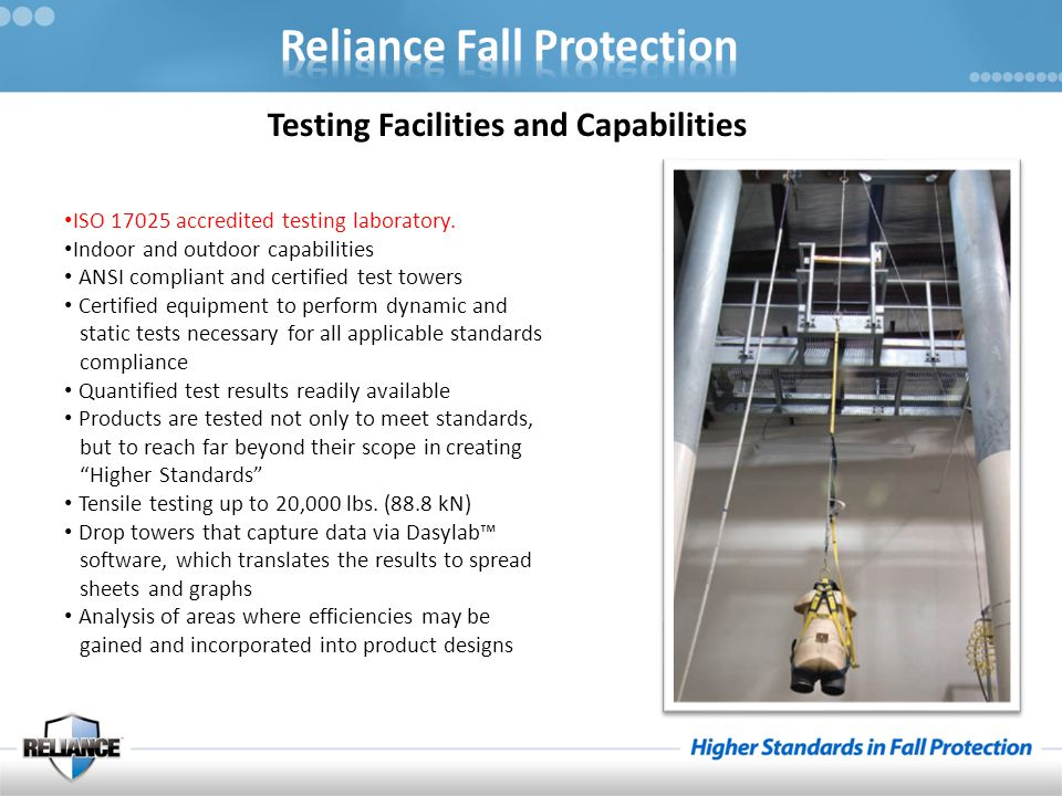 Anchorage- The terminating component of a fall protection system or rescue system that is intended to support any forces applied to the system.