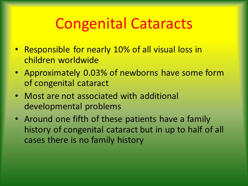 How to prevent amblyopia In infants it is essential to correct aphakia as soon as possible after surgery.