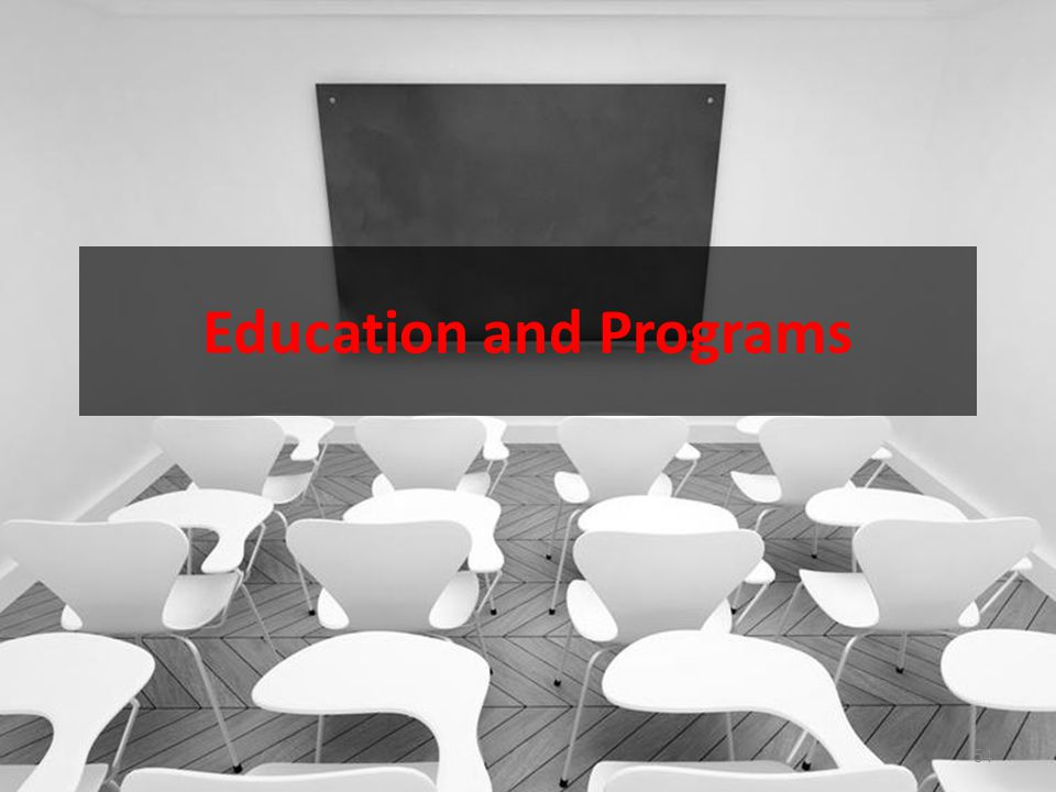 Education and Programs 54