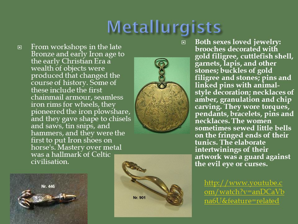  From workshops in the late Bronze and early Iron age to the early Christian Era a wealth of objects were produced that changed the course of history.