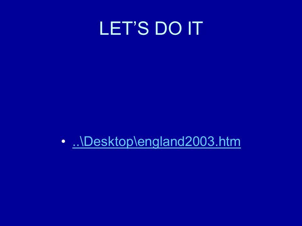 LET'S DO IT..\Desktop\england2003.htm