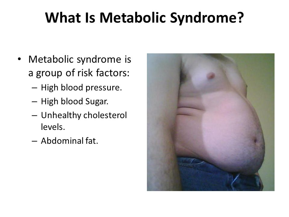 Who Get Metabolic Syndrome.Metabolic syndrome is as widespread as the common cold.