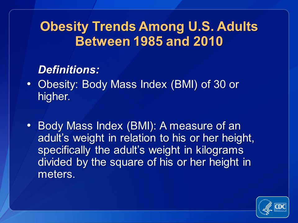 National Health Epidemic 1 in 3 children/teens in U.S.