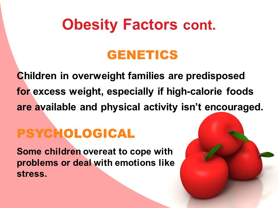Obesity Factors cont.