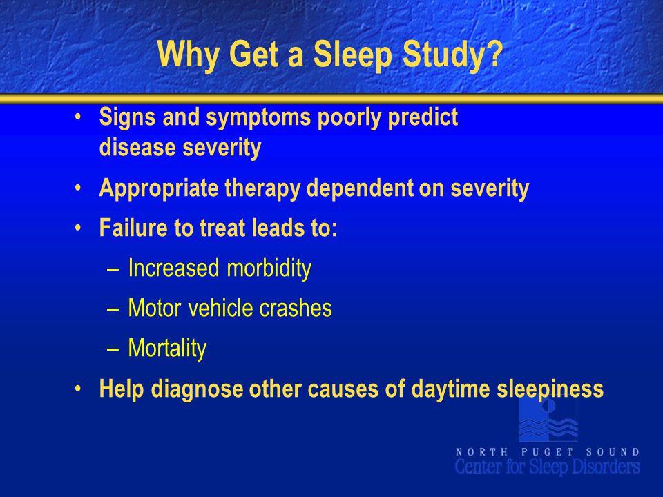 Why Get a Sleep Study.