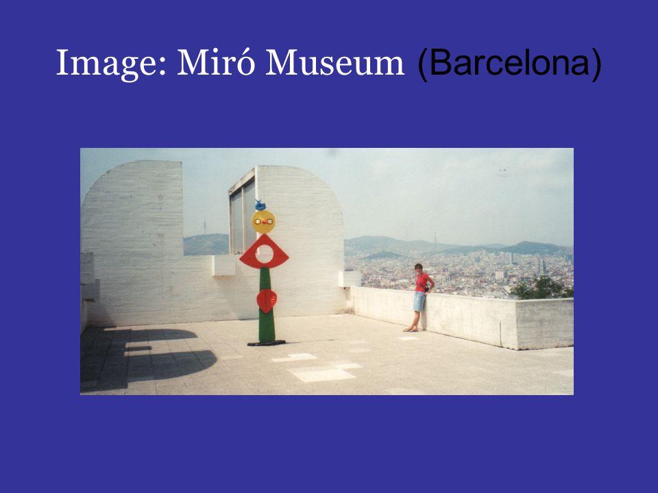 Image: Miró Museum (Barcelona)