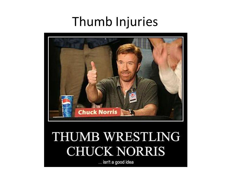 Thumb Injuries