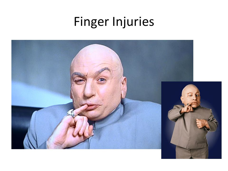 Finger Injuries #1 16 yo HS basketball player who presents to training room after jamming his L index finger
