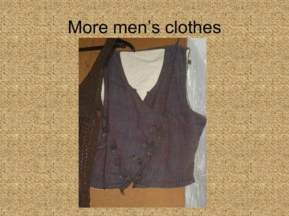 More men's clothes