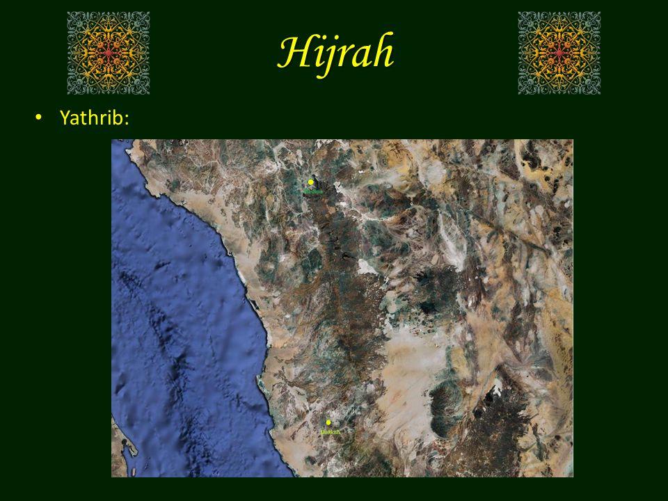 Hijrah Yathrib: