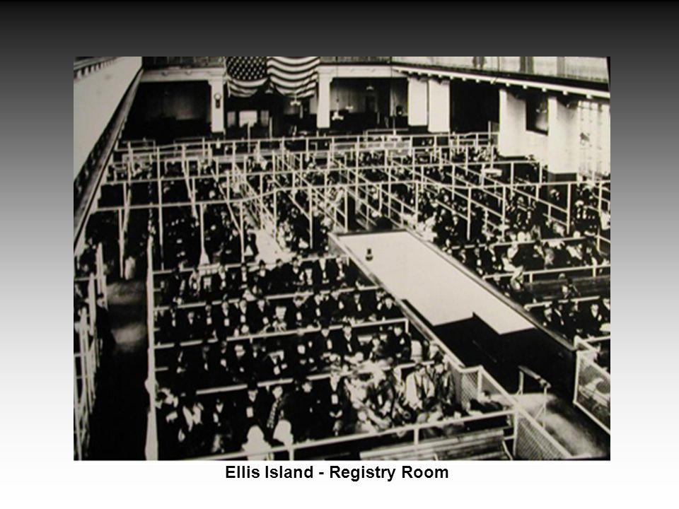 Ellis Island - Registry Room