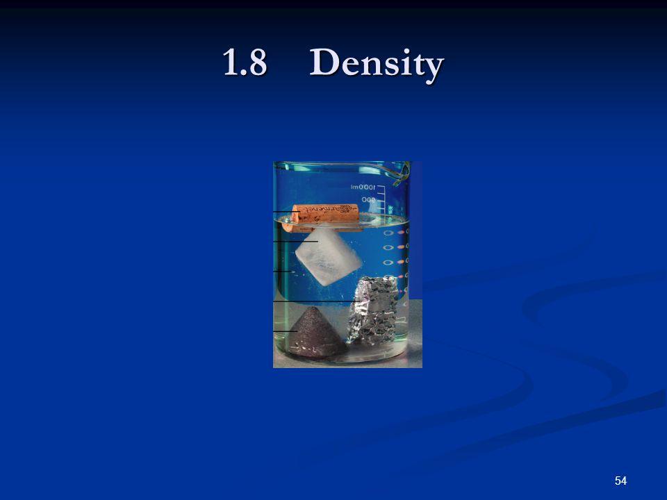 54 1.8 Density