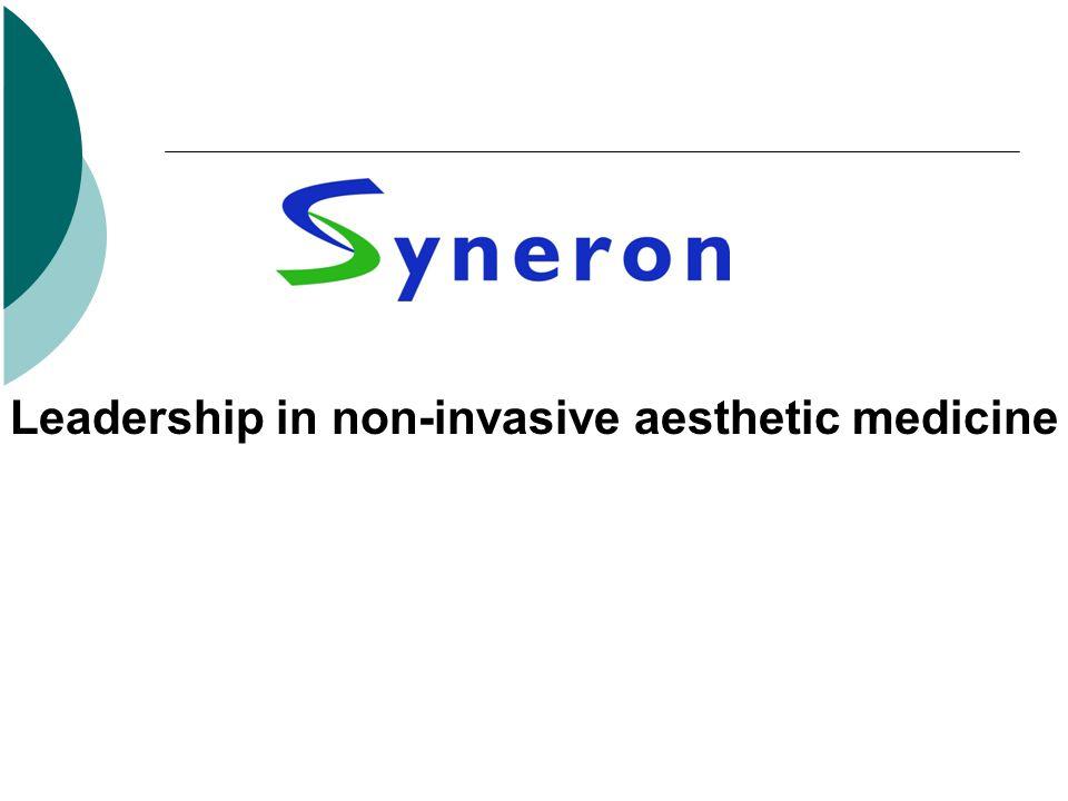 Leadership in non-invasive aesthetic medicine