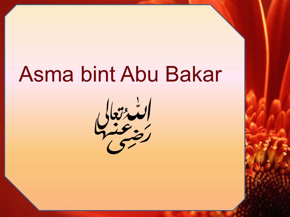Asma bint Abu Bakar