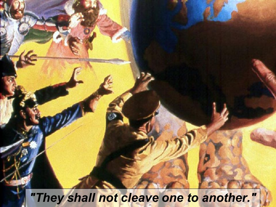 They shall not cleave one to another.