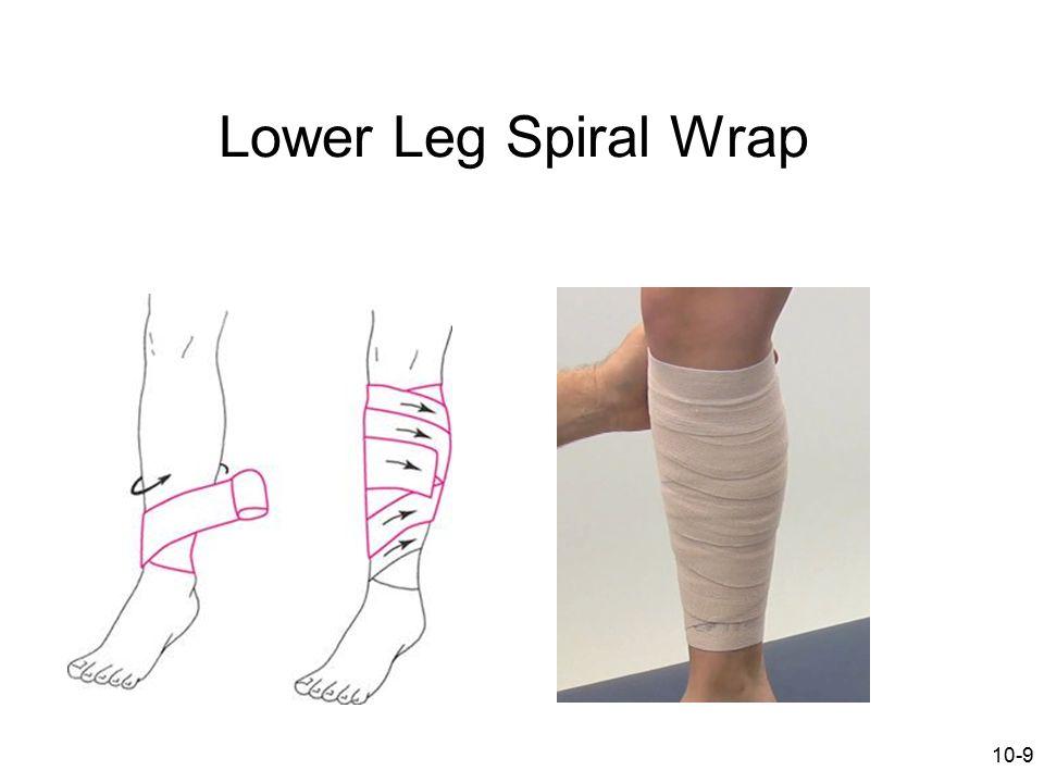 10-9 Lower Leg Spiral Wrap