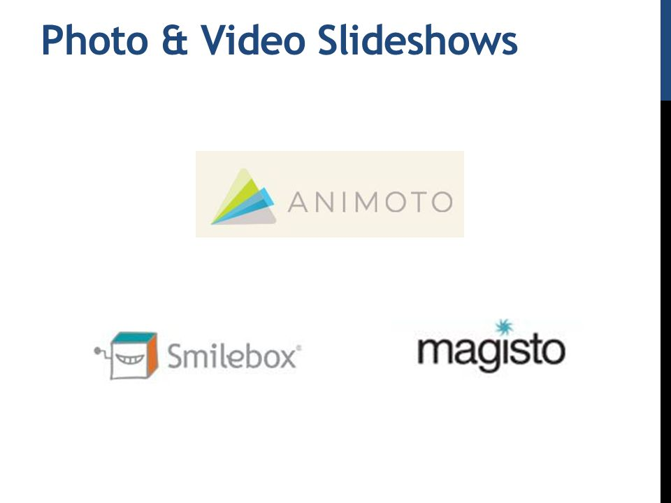 Photo & Video Slideshows