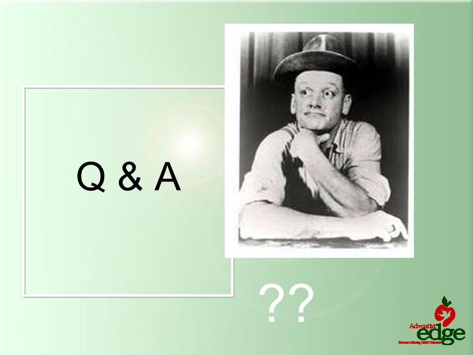 Q & A ??