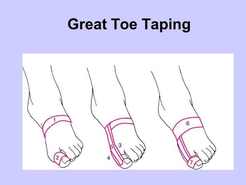 Great Toe Taping