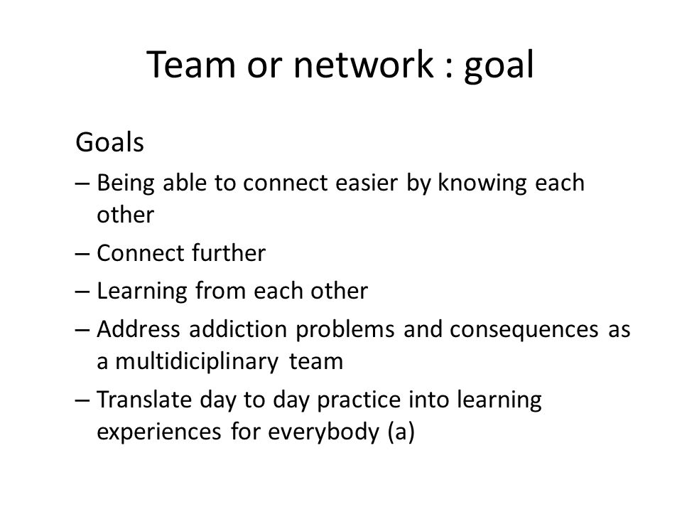 Share experiences with the dutch team, aks questions We ( dutch team) will give feedback, answer questions