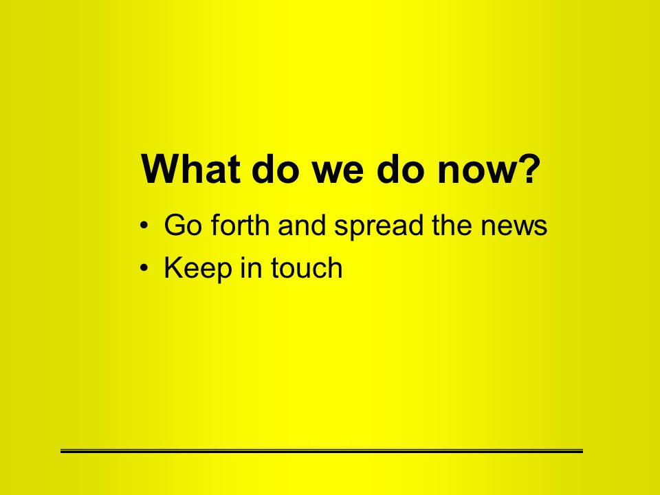 Go forth and spread the news To farmers –It is not going to be used against you –It is going to enable decisions that directly affect you –Without it … –Give advanced notice and publicity –Give them concrete examples To data users –It can help you address important questions –Give advanced notice and publicity –Credit ARMS (ERS AND NASS) –Give them concrete examples