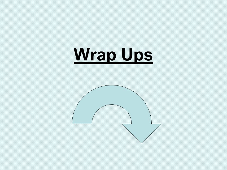 Wrap Ups