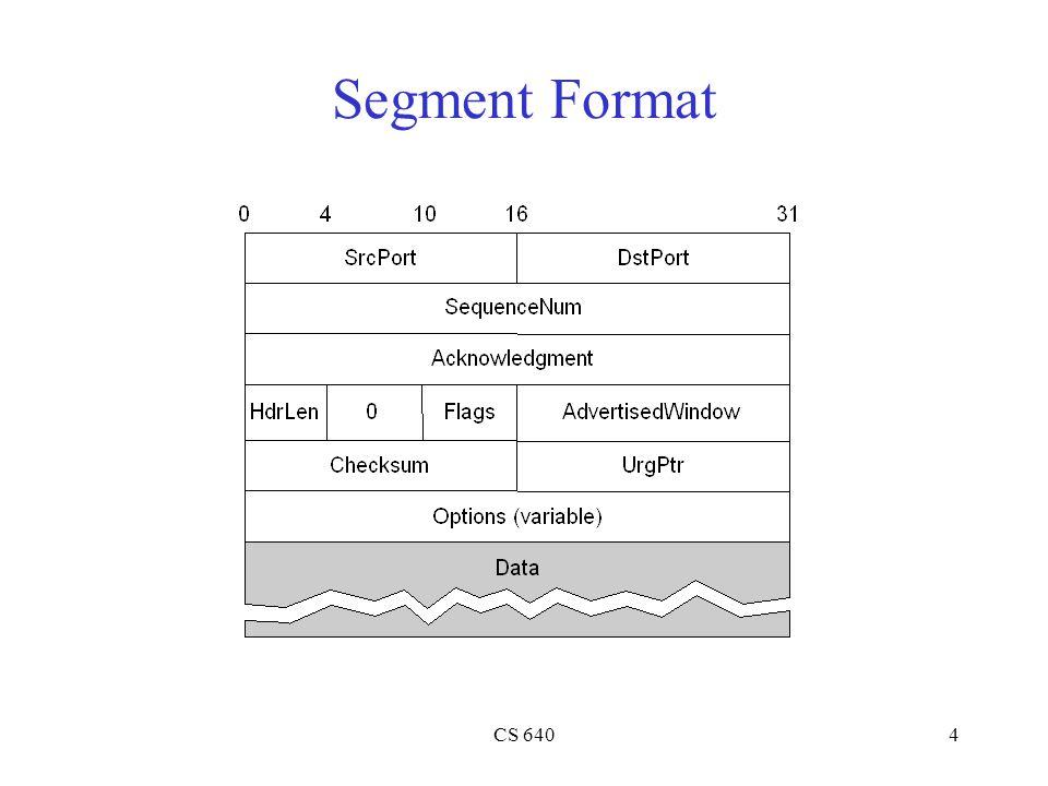 CS 6404 Segment Format