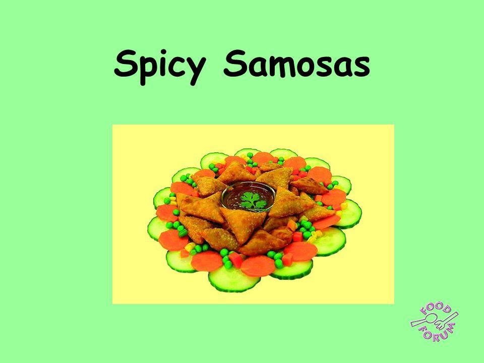 Spicy Samosas