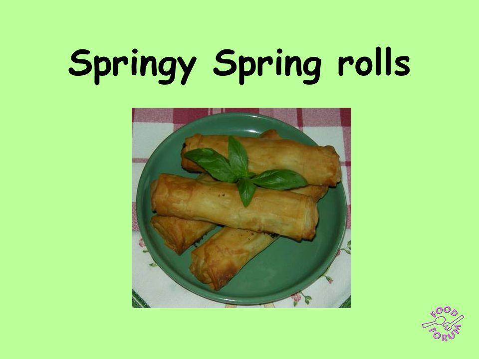 Springy Spring rolls