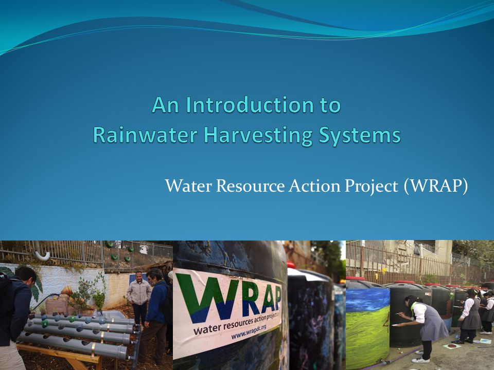 Why Rainwater Harvesting Systems.