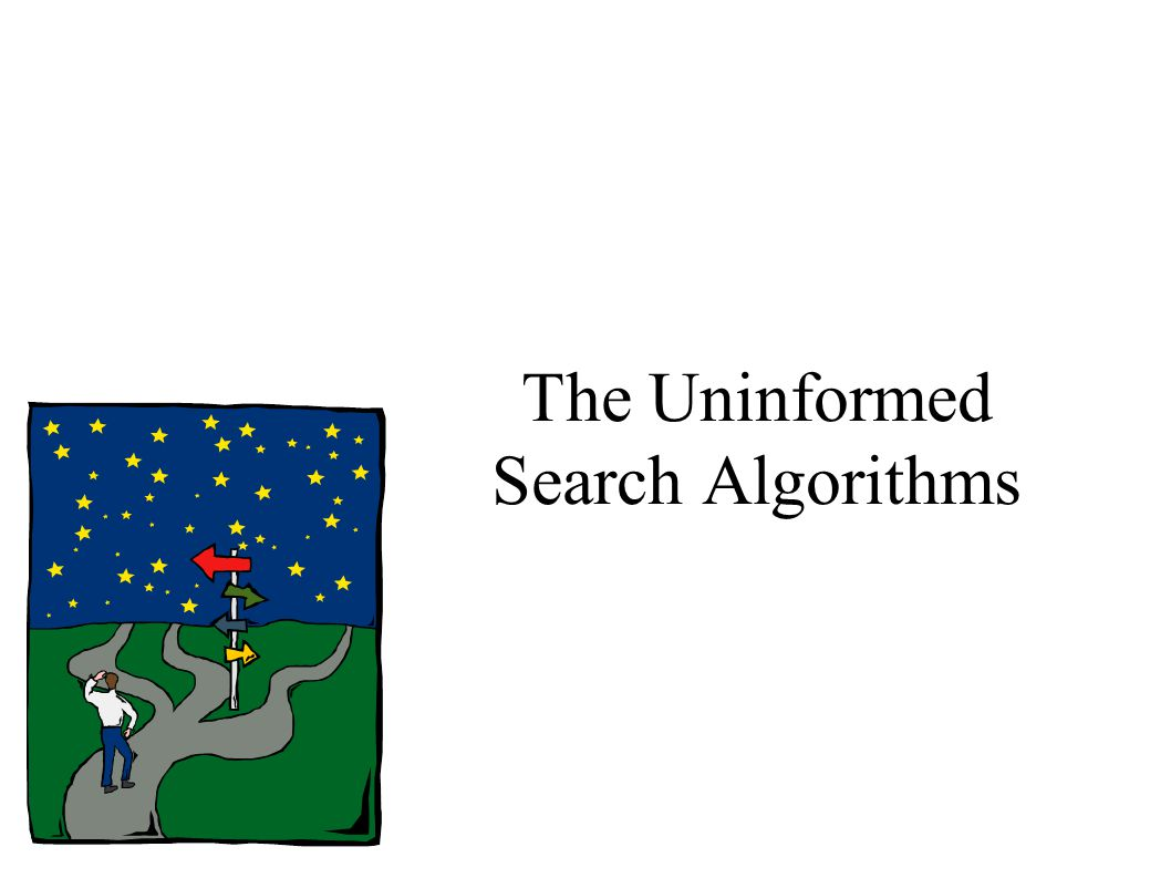 The Uninformed Search Algorithms