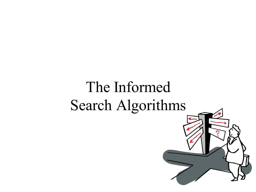 The Informed Search Algorithms