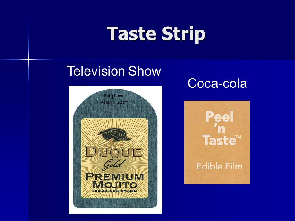 Taste Strip Television Show Coca-cola