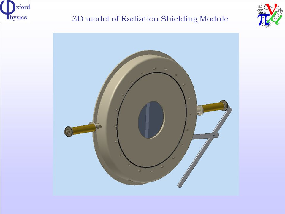 3D model of Radiation Shielding Module