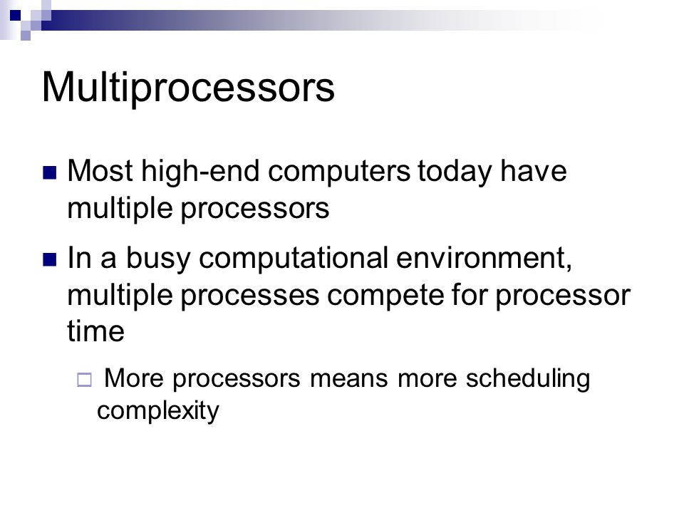 14 Necessary and Sufficient Conditions Any set of tasks needing at most 1) 1 processor for each task ( for all i, u i ≤ 1 ), and 2) m processors for all tasks (  u i ≤ m) is feasible  Proof: Small scheduling intervals can approximate a task s fluid rate curve Status: Solved  pfair (1996) was the first optimal algorithm