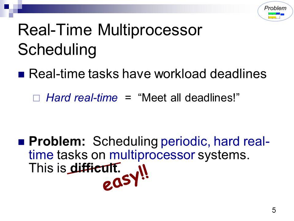 46 DP-Fair Easily Extended Extending optimal algorithms to sporadic tasks and arbitrary deadlines has previously been difficult  pfair : 10 years  LLREF : 3 years DP-Fair & DP-Wrap: 3 weeks
