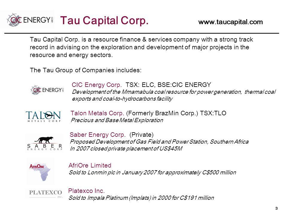 3 Tau Capital Corp.