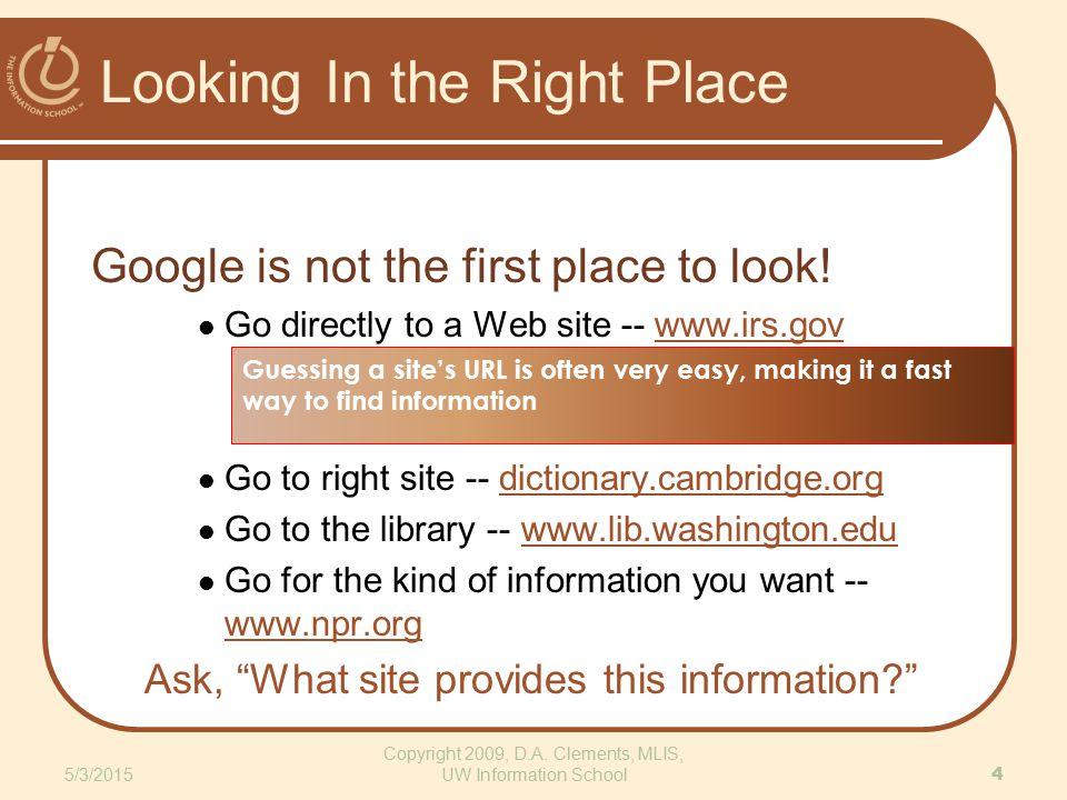 True Site, Bogus Implication http://www.dhmo.org 5/3/2015 15 Copyright 2009, D.A.
