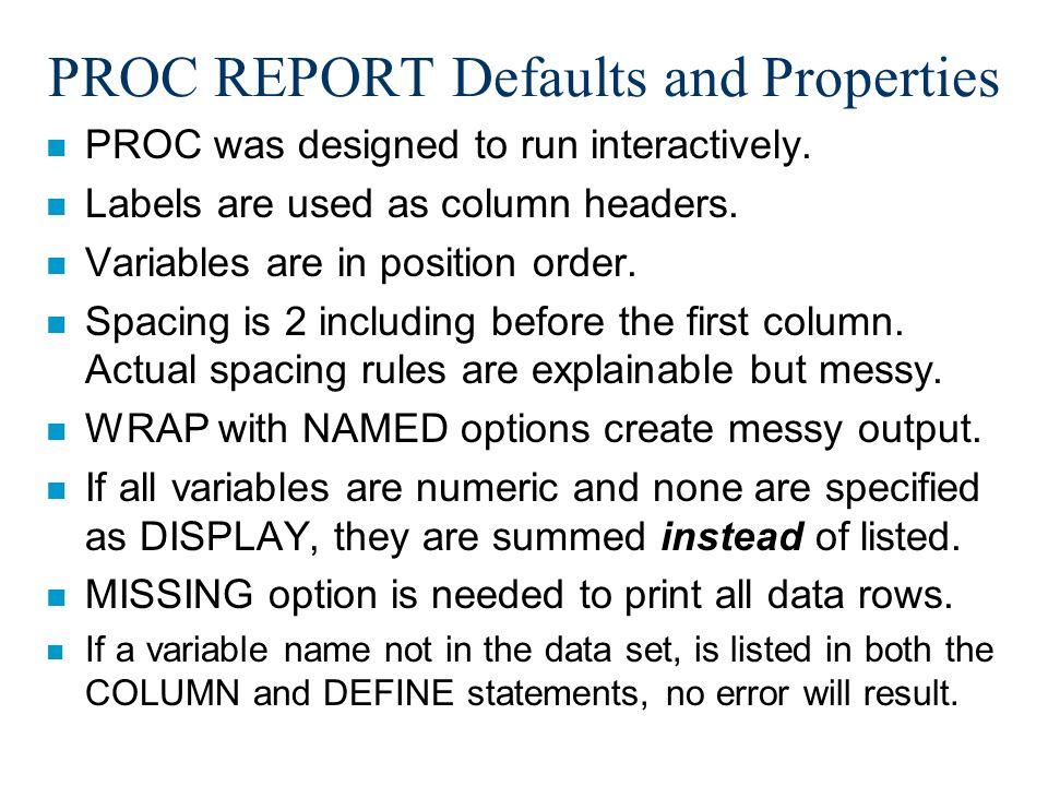 Final AE PROC REPORT Code
