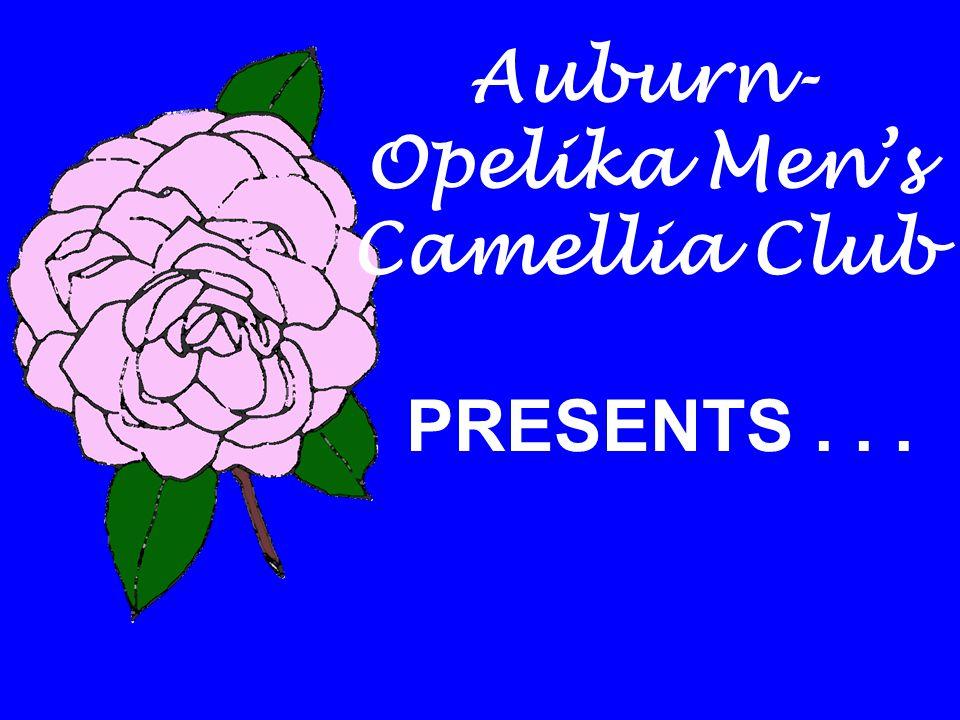 Auburn- Opelika Men's Camellia Club PRESENTS...