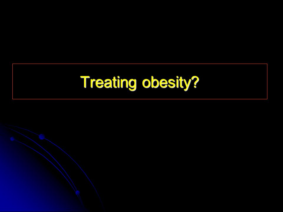 Treating obesity