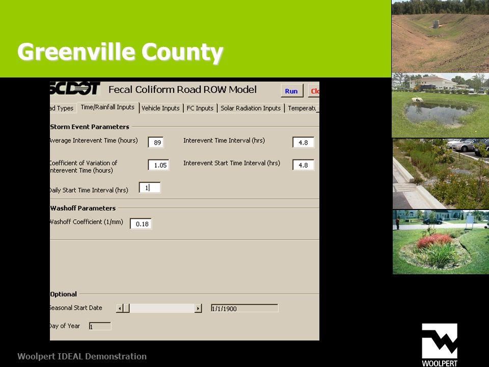 Woolpert IDEAL Demonstration Greenville County