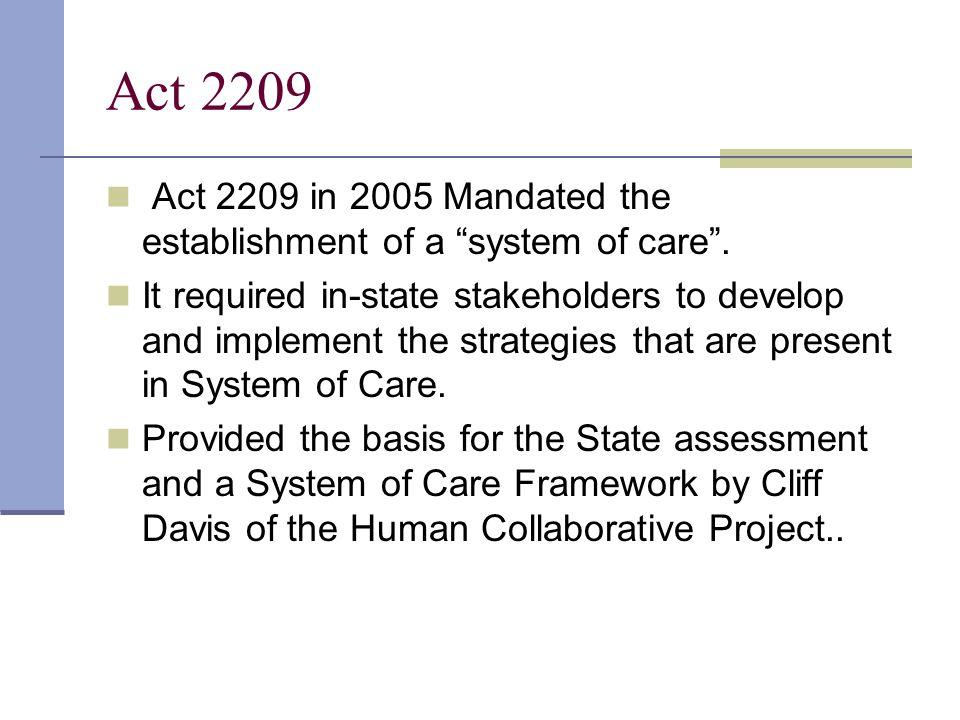 System of Care Framework