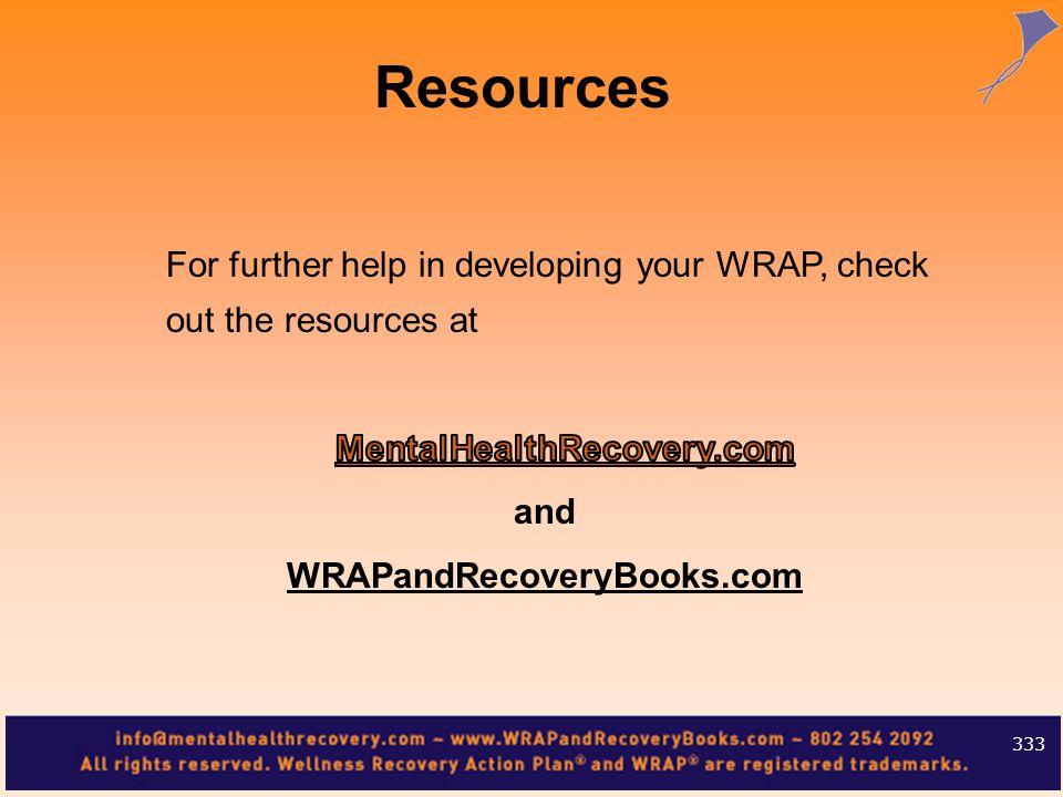 Resources 333