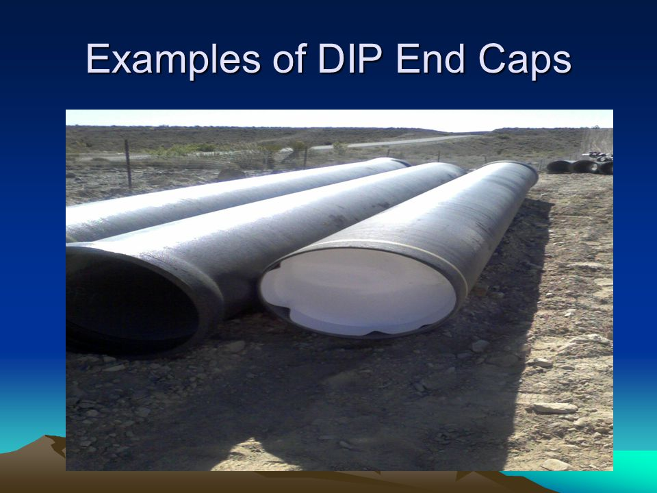 Examples of DIP End Caps
