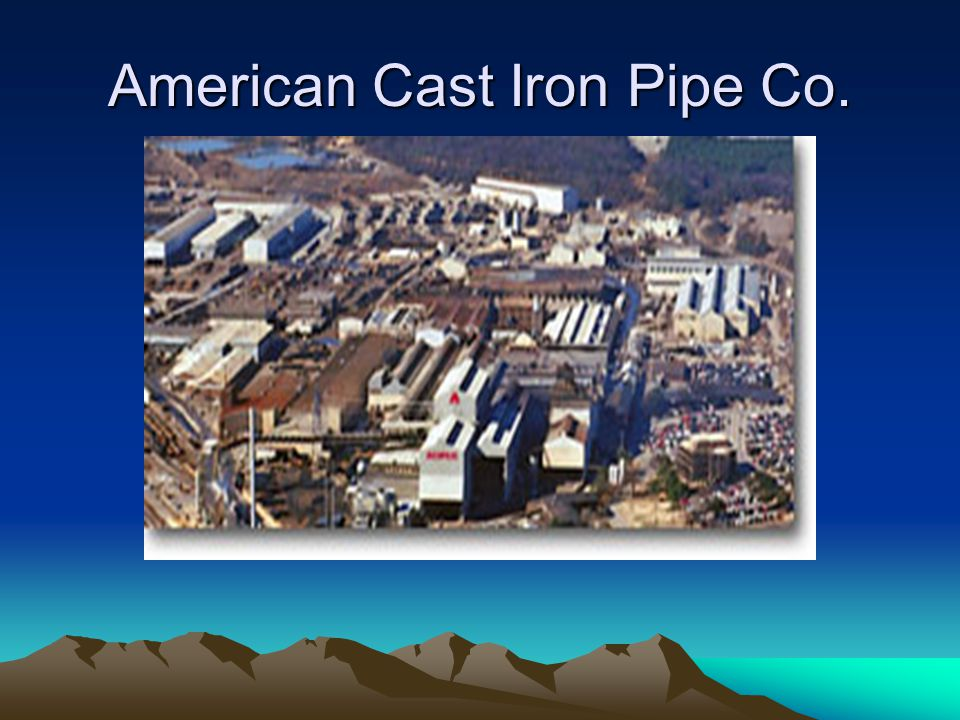 American Cast Iron Pipe Co.