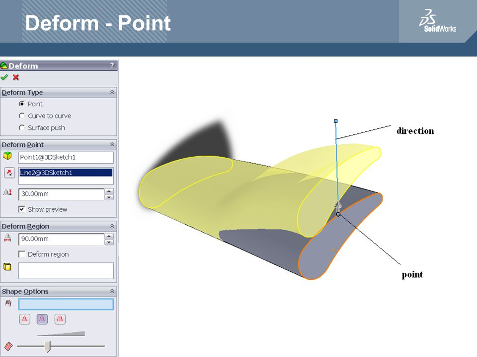 Deform - Point